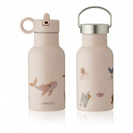 Liewood Anker Trinkflasche - Sea creature rose mix