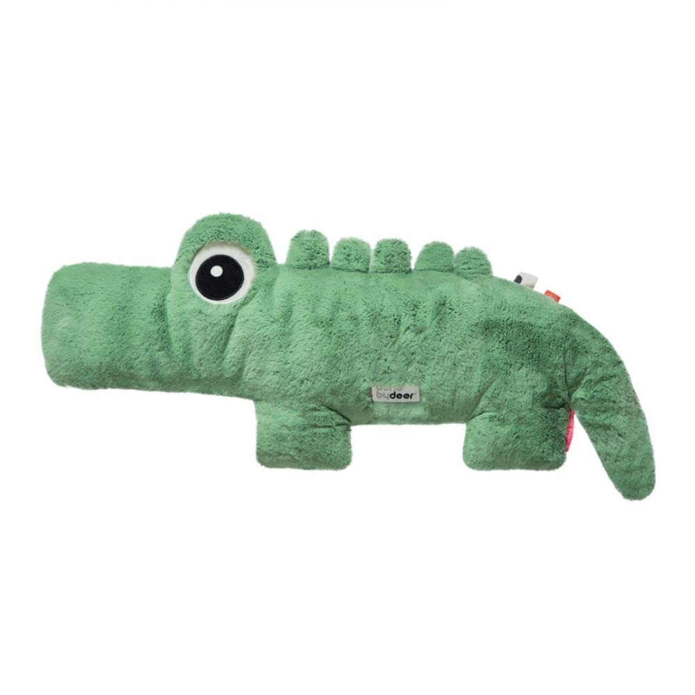 Done by Deer sehr großes Kuscheltier Krokodil 44x40 cm