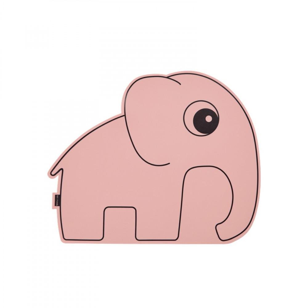 Done by Deer Platzset Elefant rosa