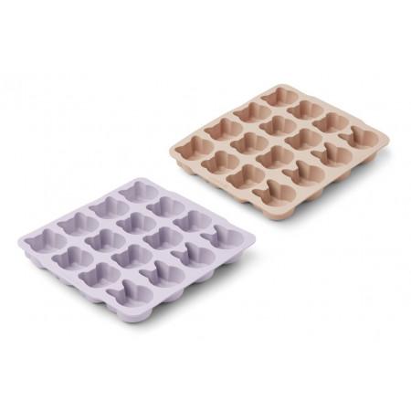 Liewood Eiswürfelformen Sonny, Light lavender rose mix