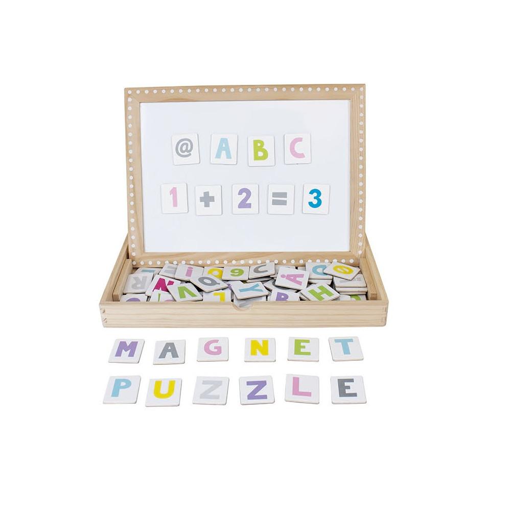 Jabadabadoo Buchstaben Magnettafel