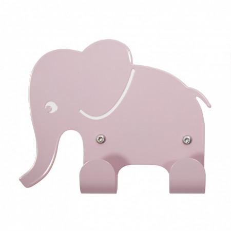 Roommate Wandhaken Elefant pastellrosa
