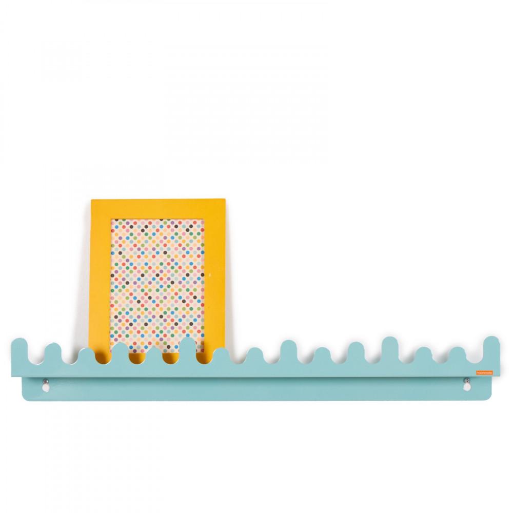 Roommate Kindergarderobe Doodle Drop pastell blau
