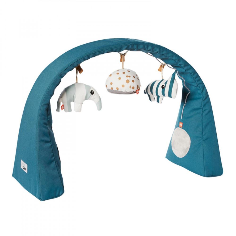 Done by Deer Baby Spielbogen und Activity Center blau