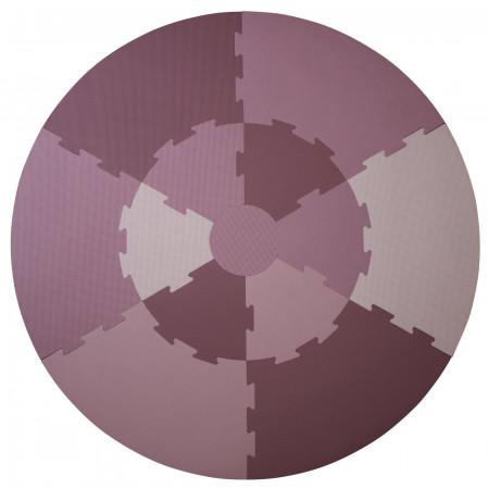 Sebra Spielmatte rund Lila / Pastell