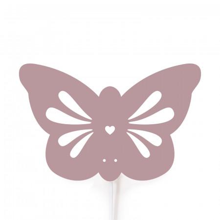Roommate Kinderzimmerlampe Schmetterling rosa