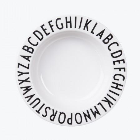 Design Letters tiefer Kinderteller ABC