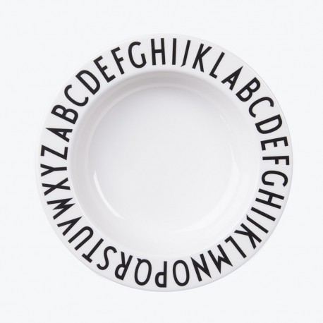 Design Letters Kinderteller ABC