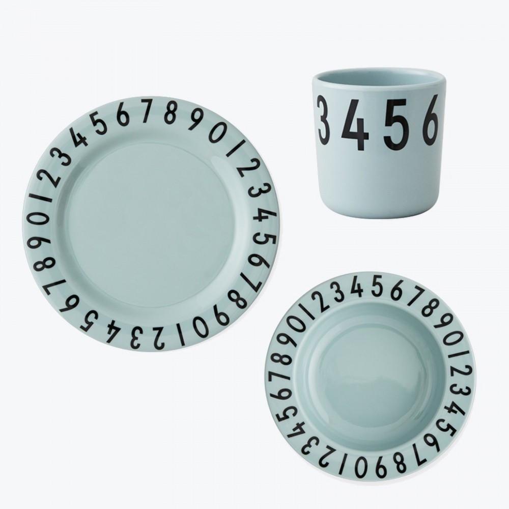 Design Letters Geschirrset Grün