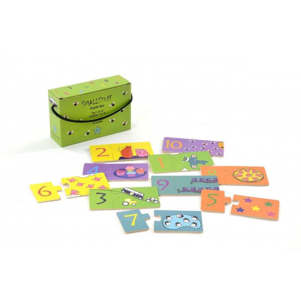 Smallstuff Puzzle Zahlen aus Holz