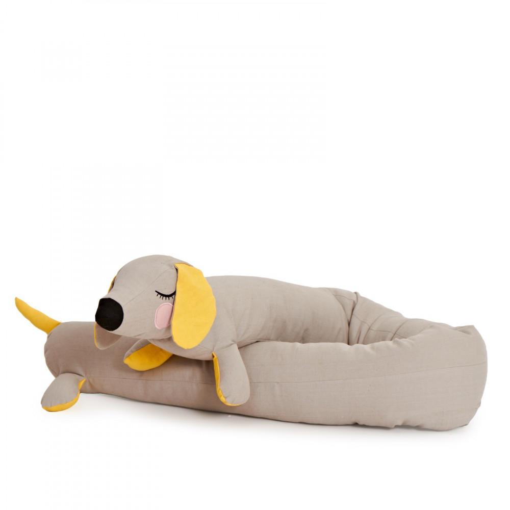 Roommate Bettschlange Hund Grau