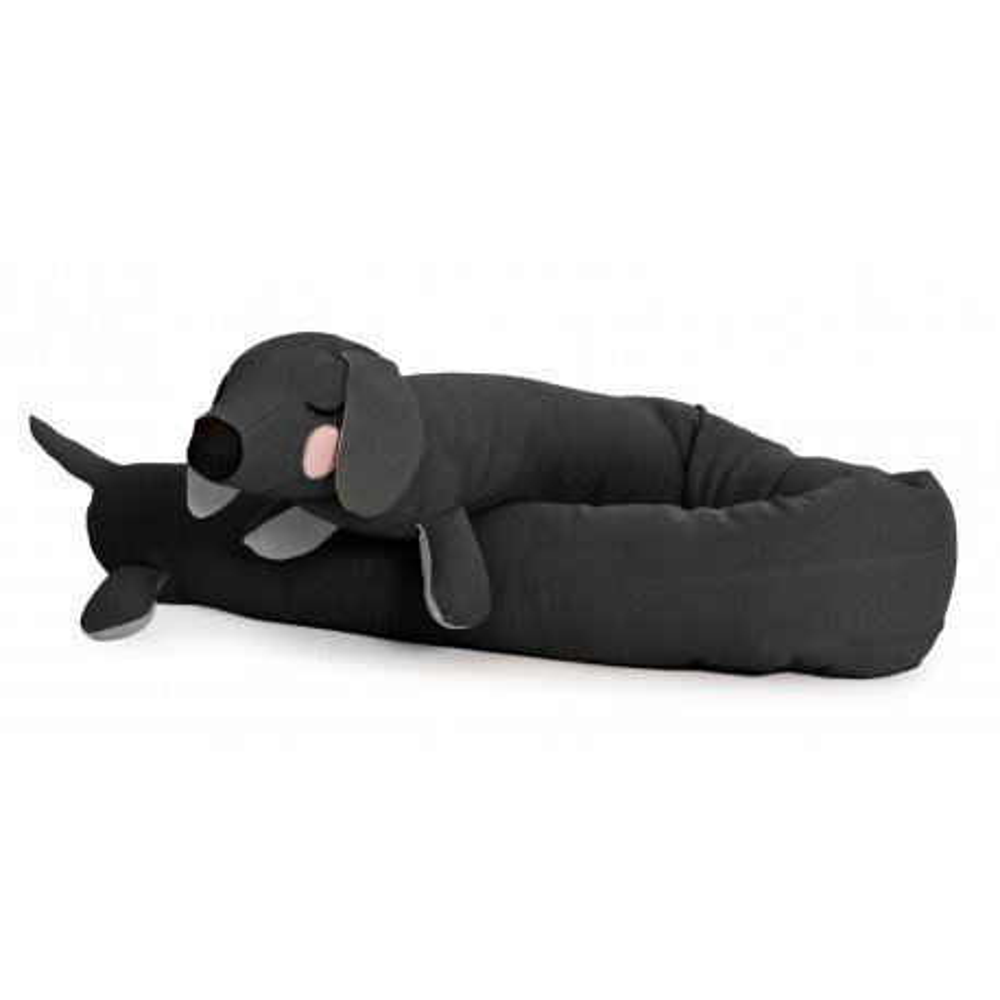 Roommate Bettschlange Hund Anthrazit