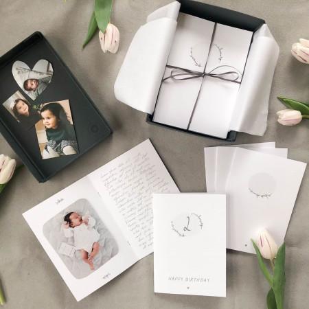 """Withwhite """"Erinnerungsbriefe"""" für das Kind, das du liebst"""