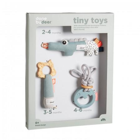 Done by Deer Geschenkset Tiny Activity Spielzeug