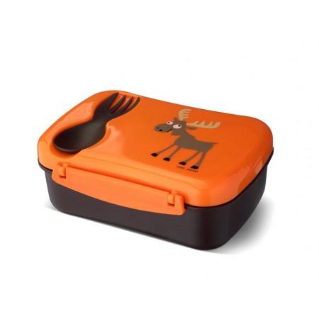 Carl Oscar N'ice Box Kids, Brotdose mit Kühlakku, Orange