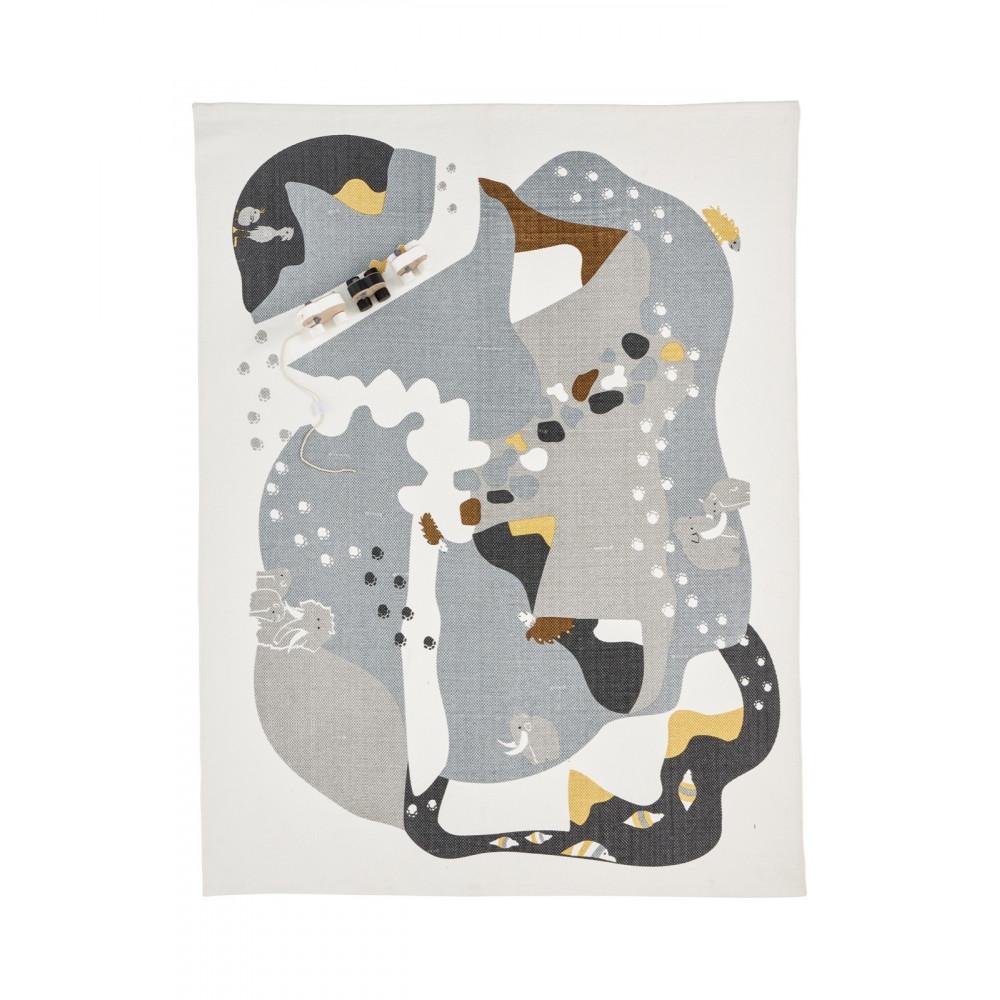 Kids Concept Spielteppich Neo Steinzeit, 130 x 170 cm