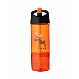 Carl Oscar 2 in 1 Trinkflasche Orange