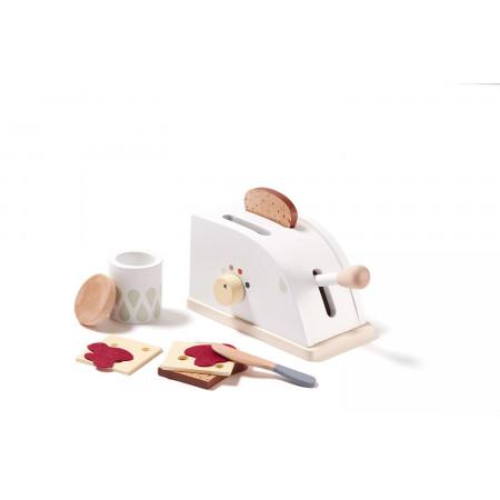 Kids Concept Kinder Toaster Set aus Holz