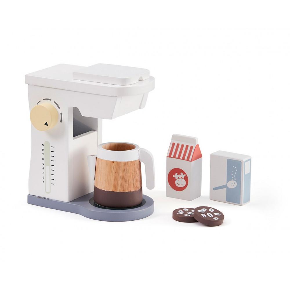 Kids Concept Kaffeemaschine Set aus Holz