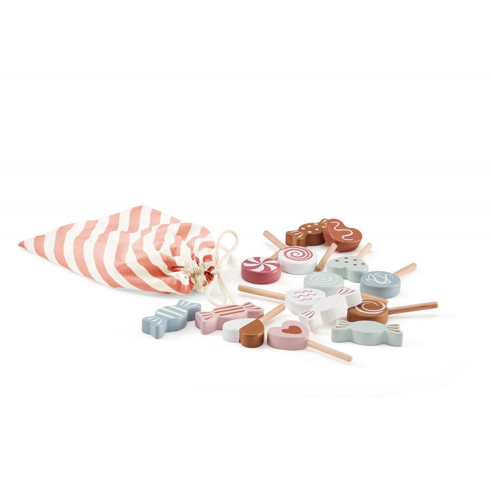 Kids Concept Süßigkeiten Set aus Holz