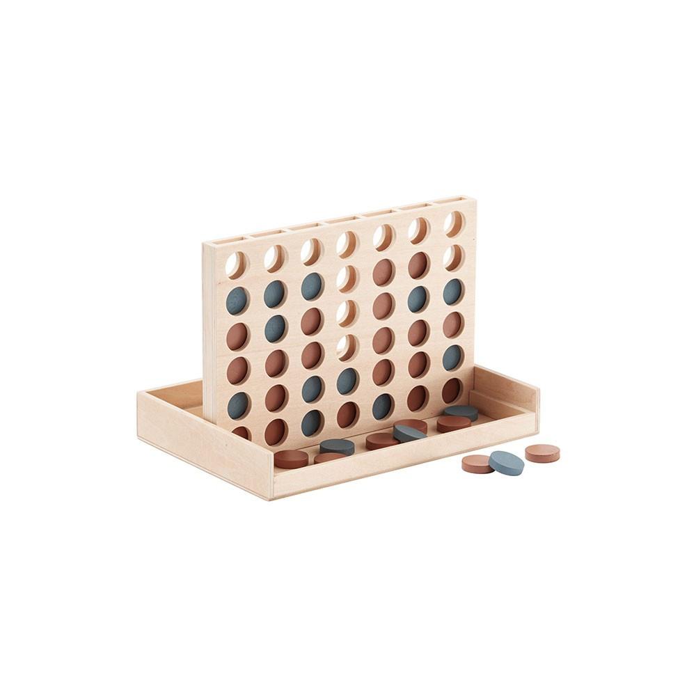 """Kids Concept Spiel """"Vier gewinnt"""" aus Holz"""