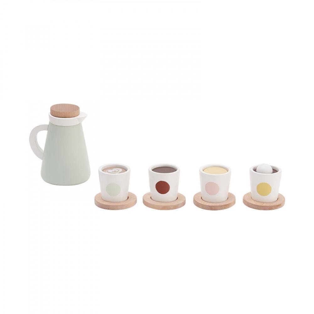 Kids Concept Kaffee und Teeset aus Holz
