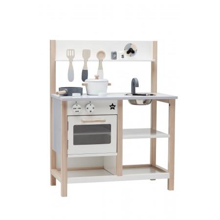 Kids Concept Kinderküche aus Holz, weiß