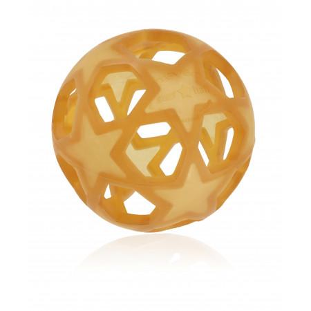 Hevea Star Ball aus Naturkautschuk, natur