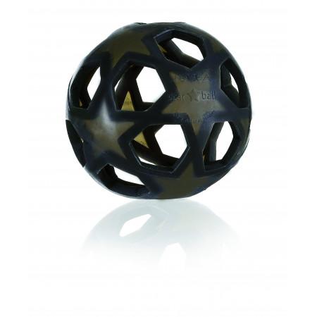 Hevea Star Ball aus Naturkautschuk, schwarzbraun