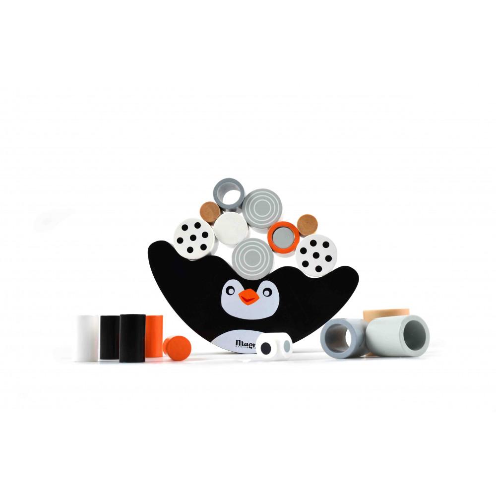 Magni Pinguin Balancespiel aus Holz