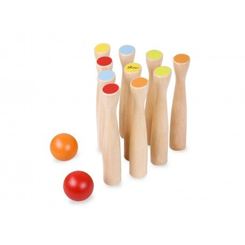 Magni Kegel Set aus Holz