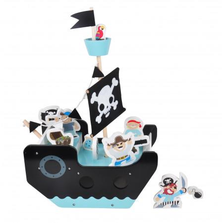 Magni Piratenschiff aus Holz