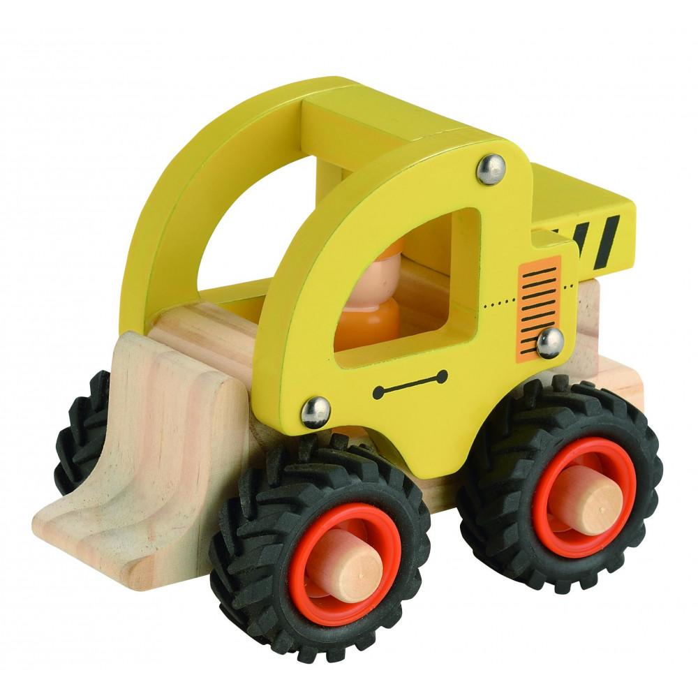 Magni Bulldozer aus Holz