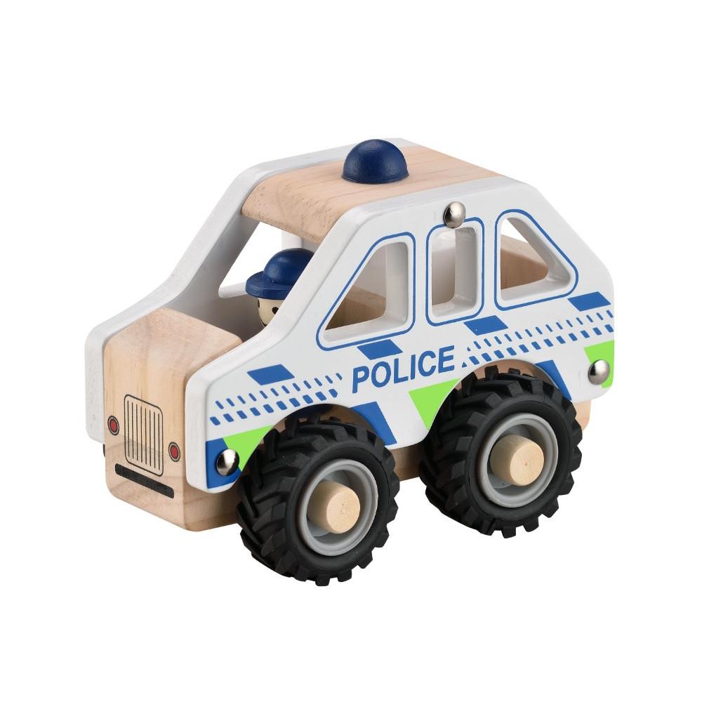 Magni Polizeiauto aus Holz