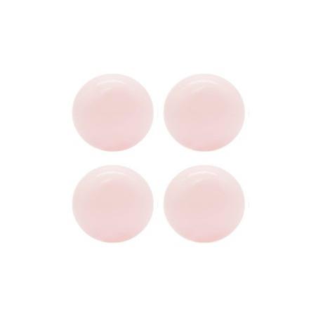 KIDKII 100 Extrabälle in rosa glänzend für dein Bällebad