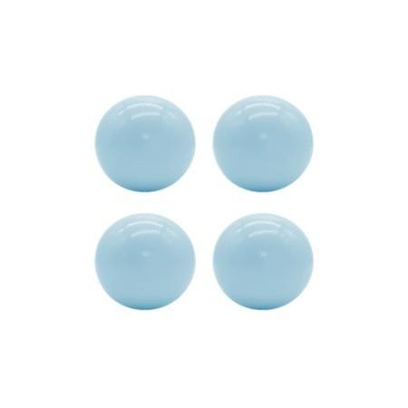 KIDKII 100 Extrabälle in babyblau glänzend für dein Bällebad