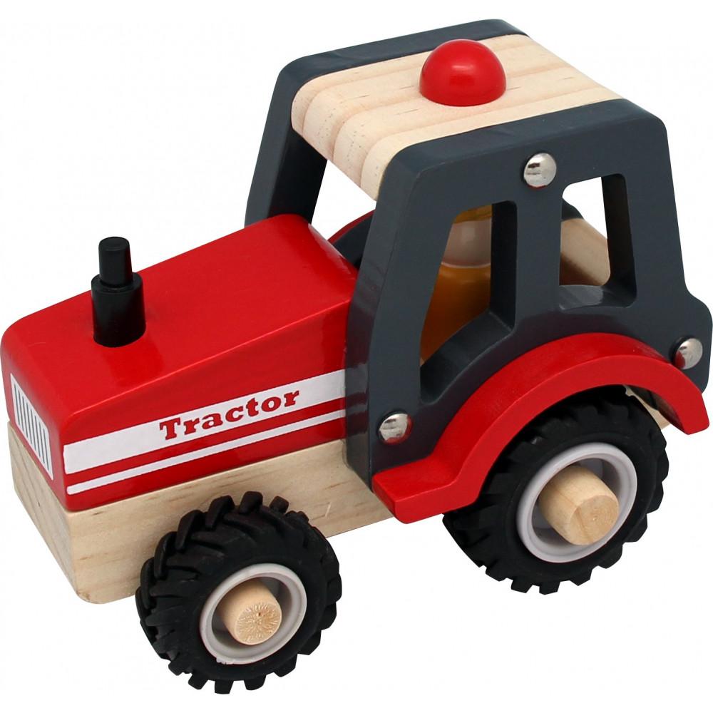 Magni Traktor aus Holz