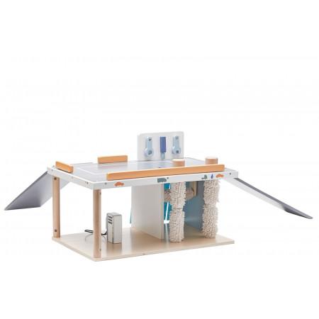 """Kids Concept Autowerkstatt """"Aiden"""" mit Waschanlage aus Holz"""