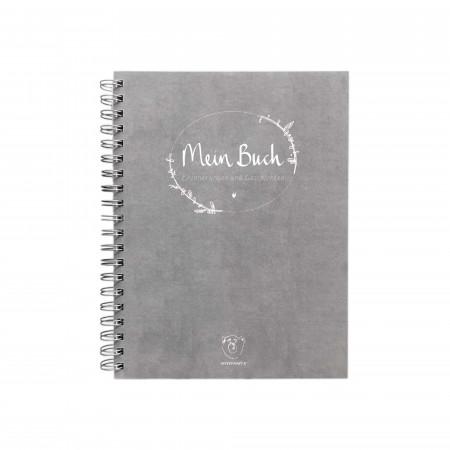 """Withwhite """"Mein Buch"""", Erinnerungsalbum mit Spiralbindung"""