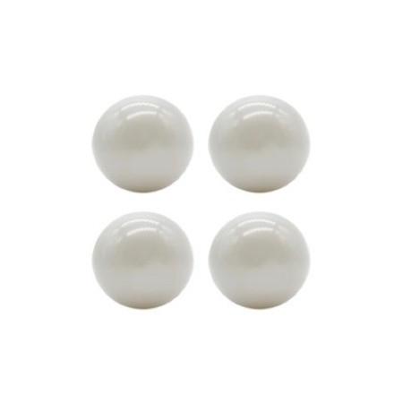 KIDKII 50 Extrabälle in grau glänzend für dein Bällebad