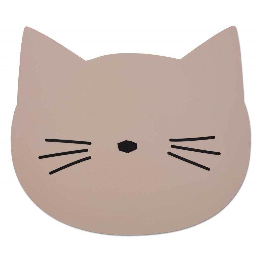 Liewood Platzset Katze rosa
