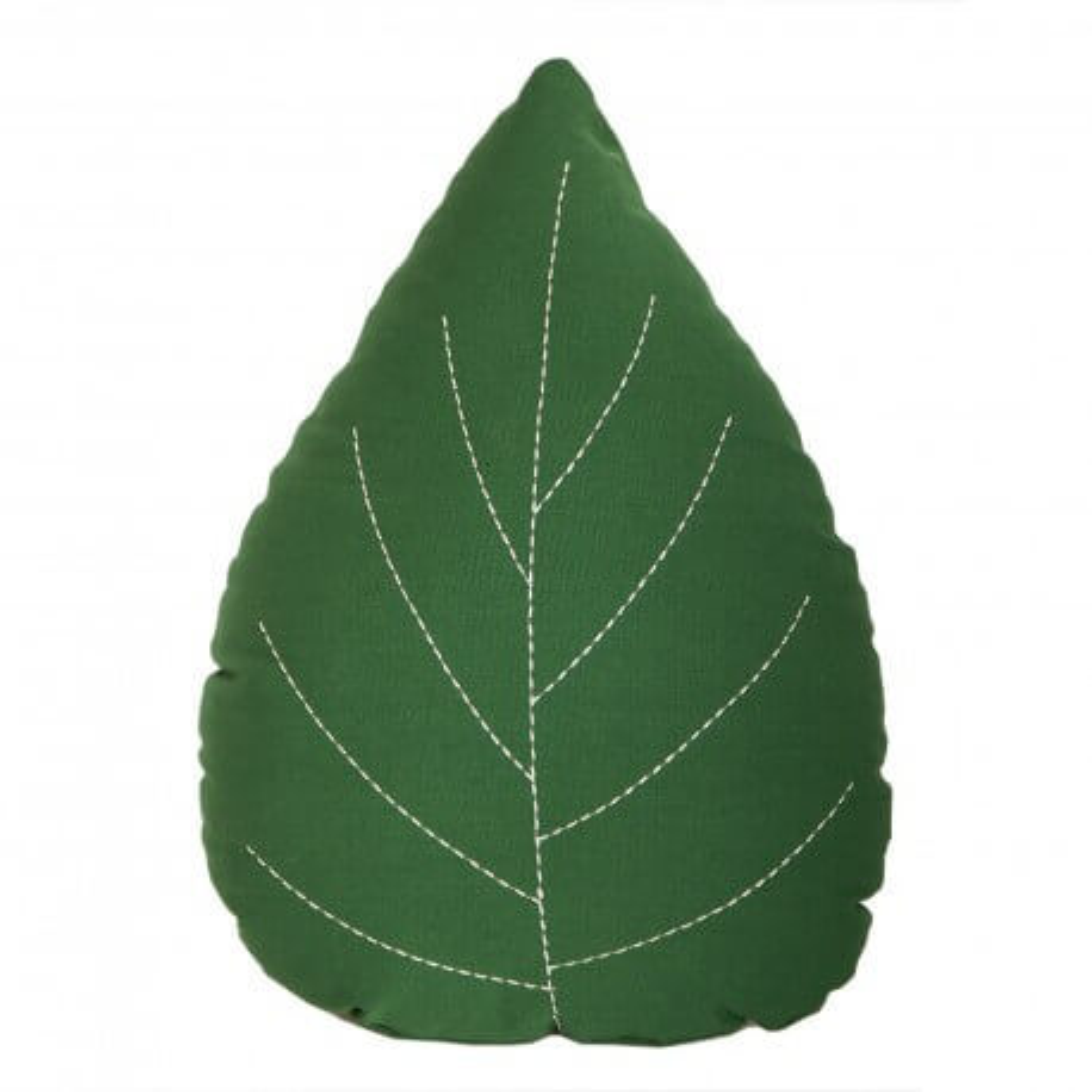 Roommate Kissen Blatt grün