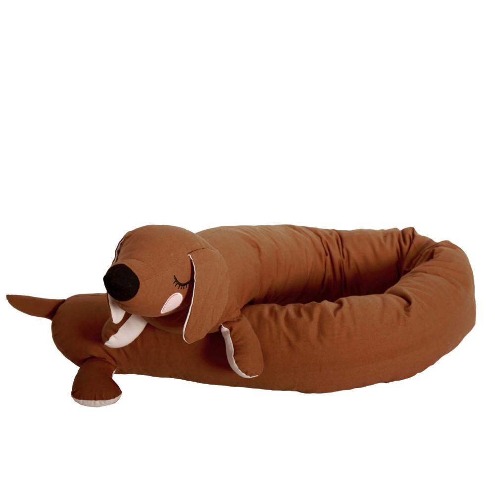 Roommate Bettschlange Hund Braun