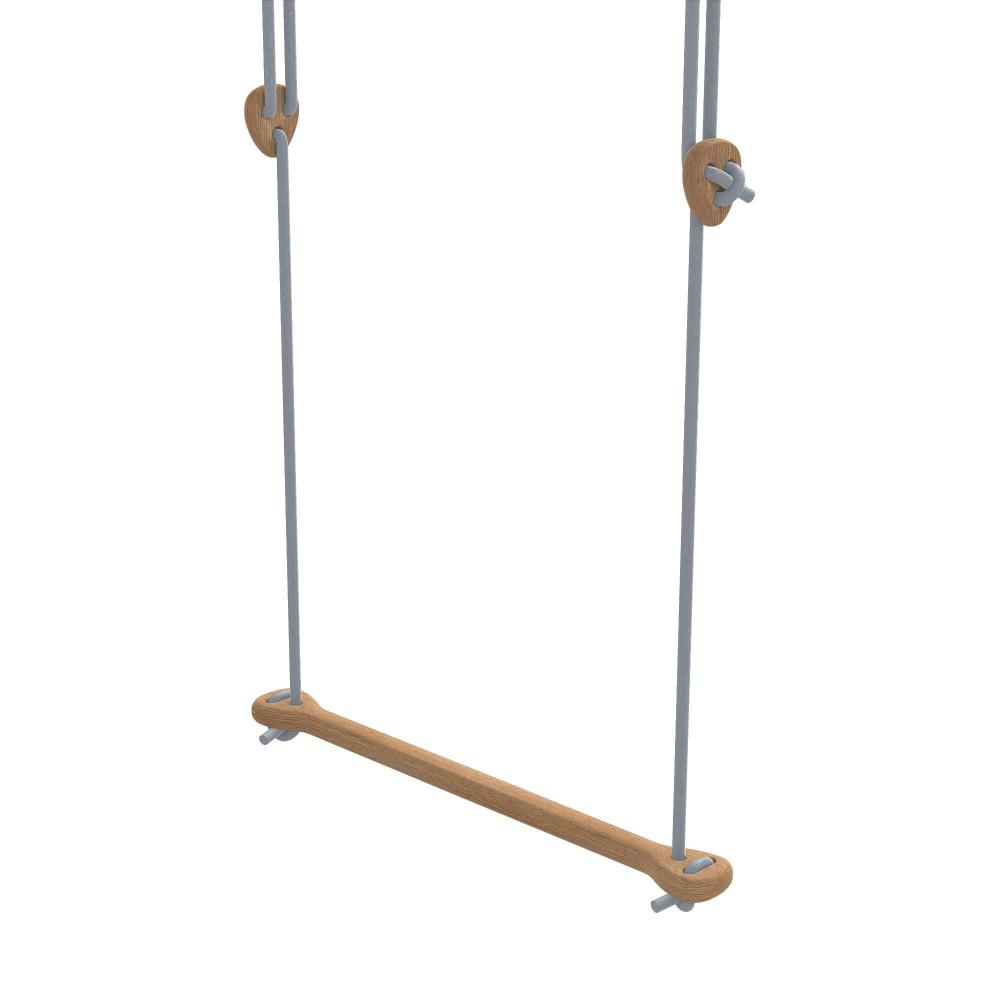 Lillagunga Trapez Bone Eiche - Seile grau