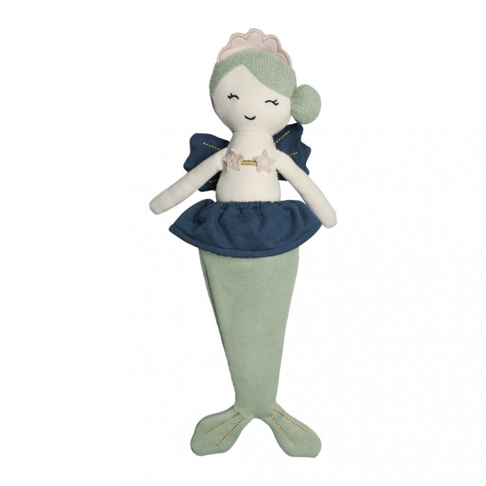 Fabelab Meerjungfrau Puppe aus Bio-Baumwolle