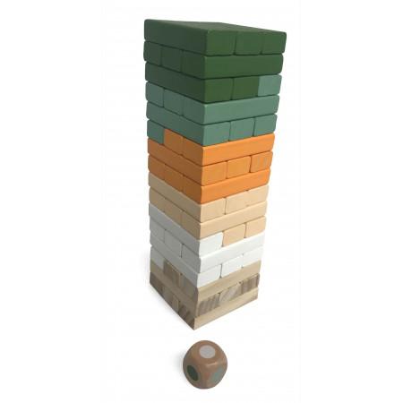 Magni Stapelspiel / Wackelturm aus Holz