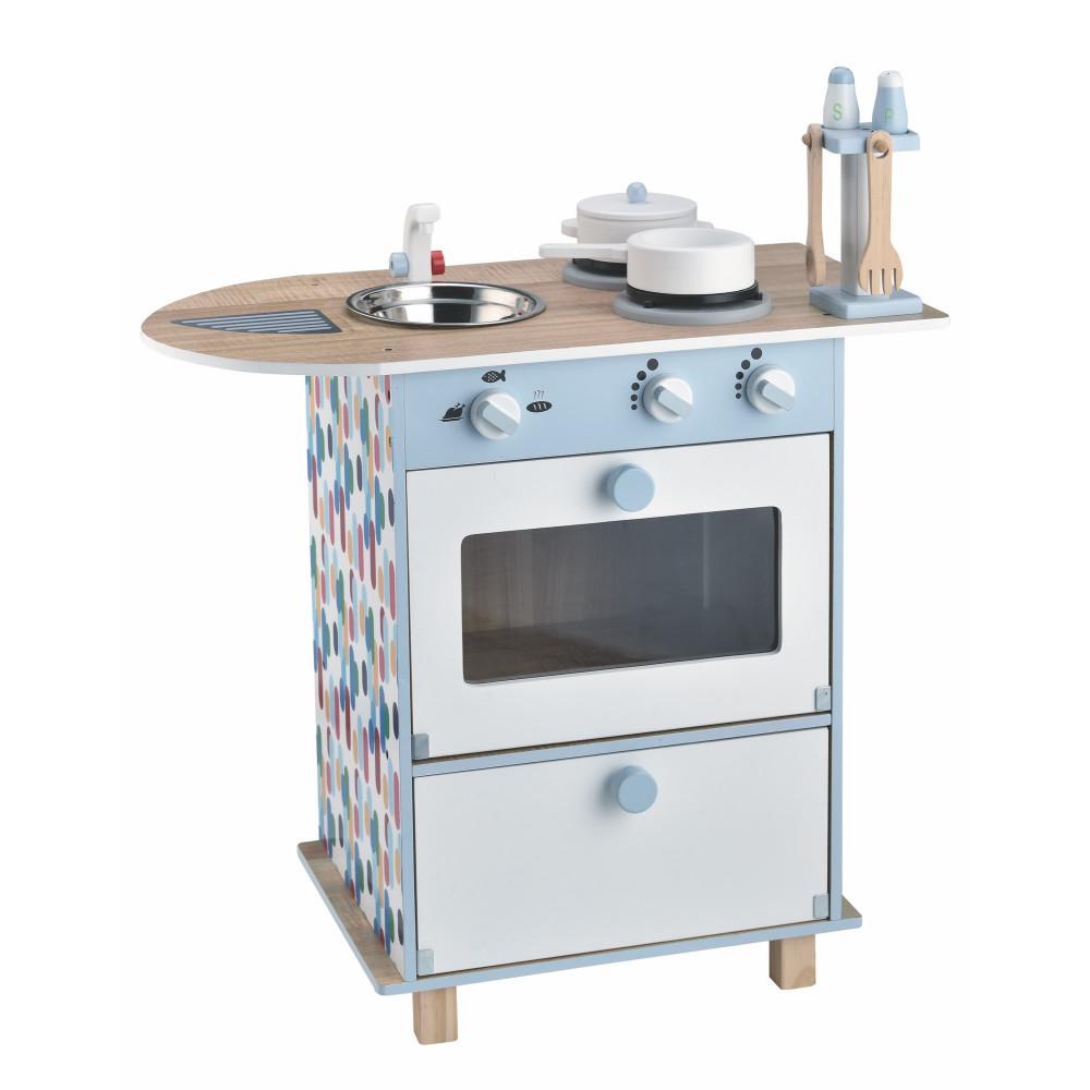 Magni Kinderküche / Kücheninsel mit Zubehör