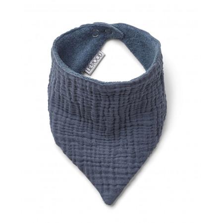 Liewood Halstuch / Lätzchen Set Baumwolle Blau