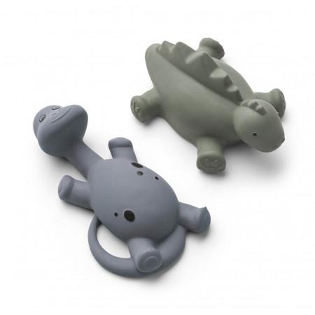 Liewood Badespielzeug Algi Dinos blau