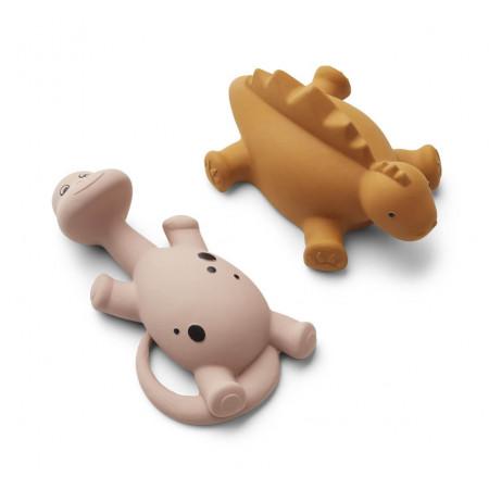 Liewood Badespielzeug Algi Dinos rosa